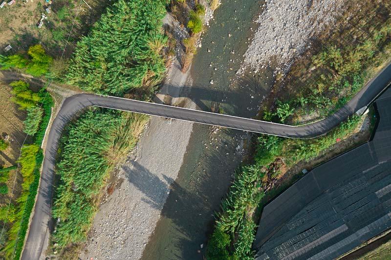 Picoolo ponte sul torrente Nervia, Liguria