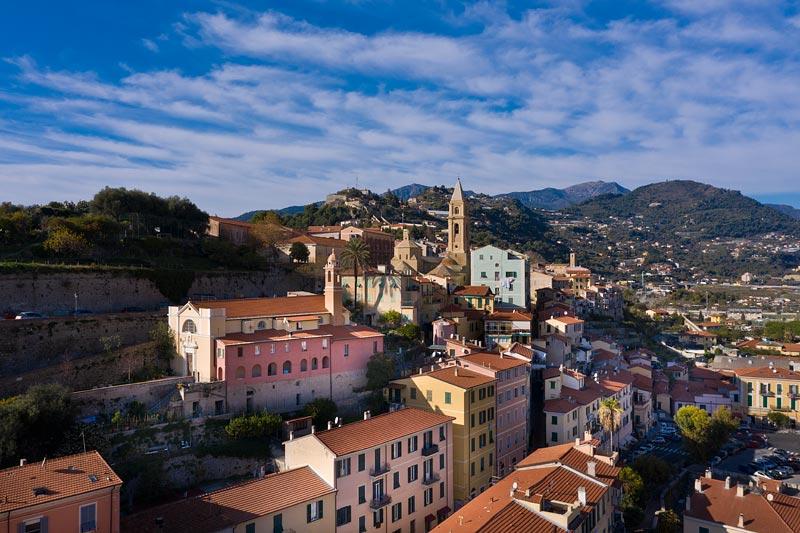 Ventimiglia, centro storico, Liguria
