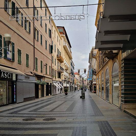 Sanremo, via Matteotti