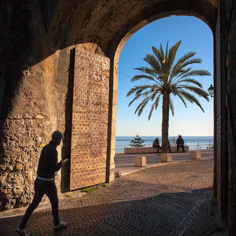 Porta Nizza. - Ventimiglia, 01.04.2021